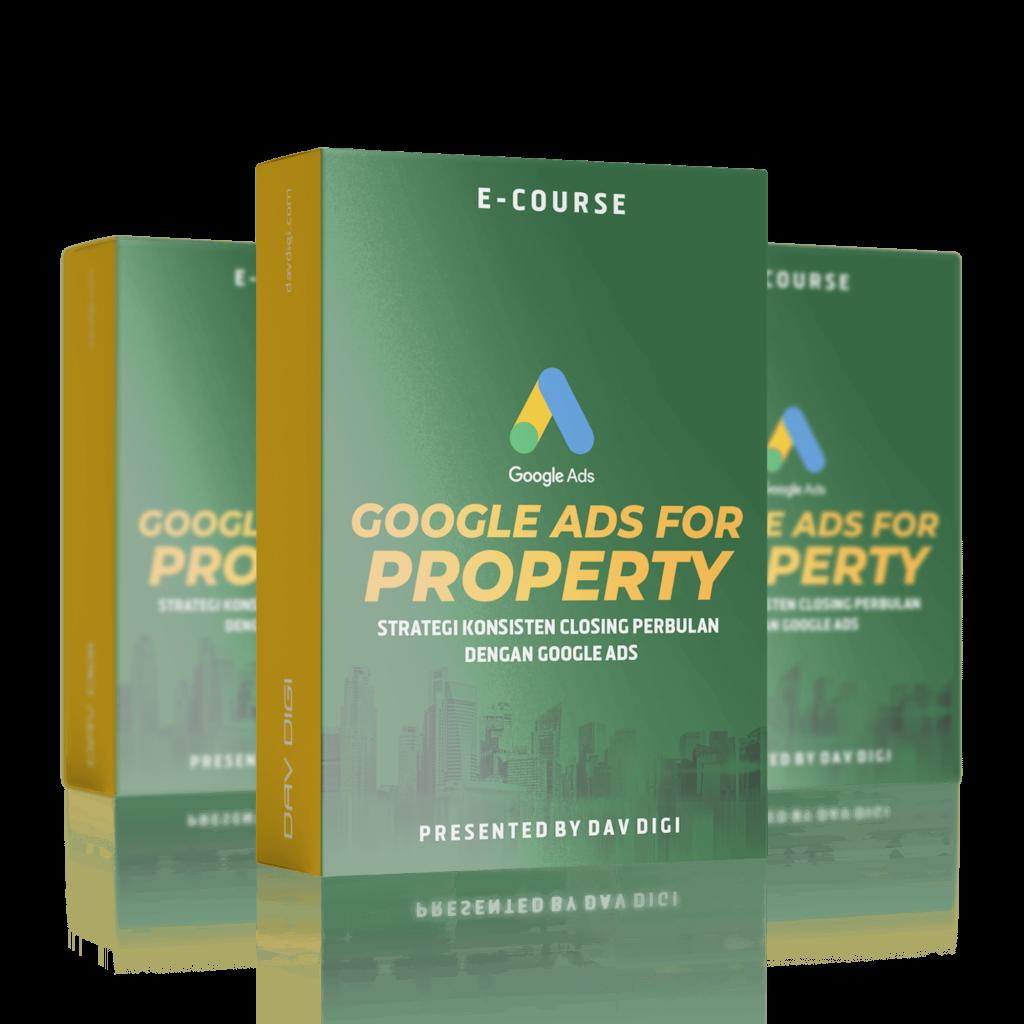 training website property - training online website property - training website properti - buku google ads gede - paket website - davdigi